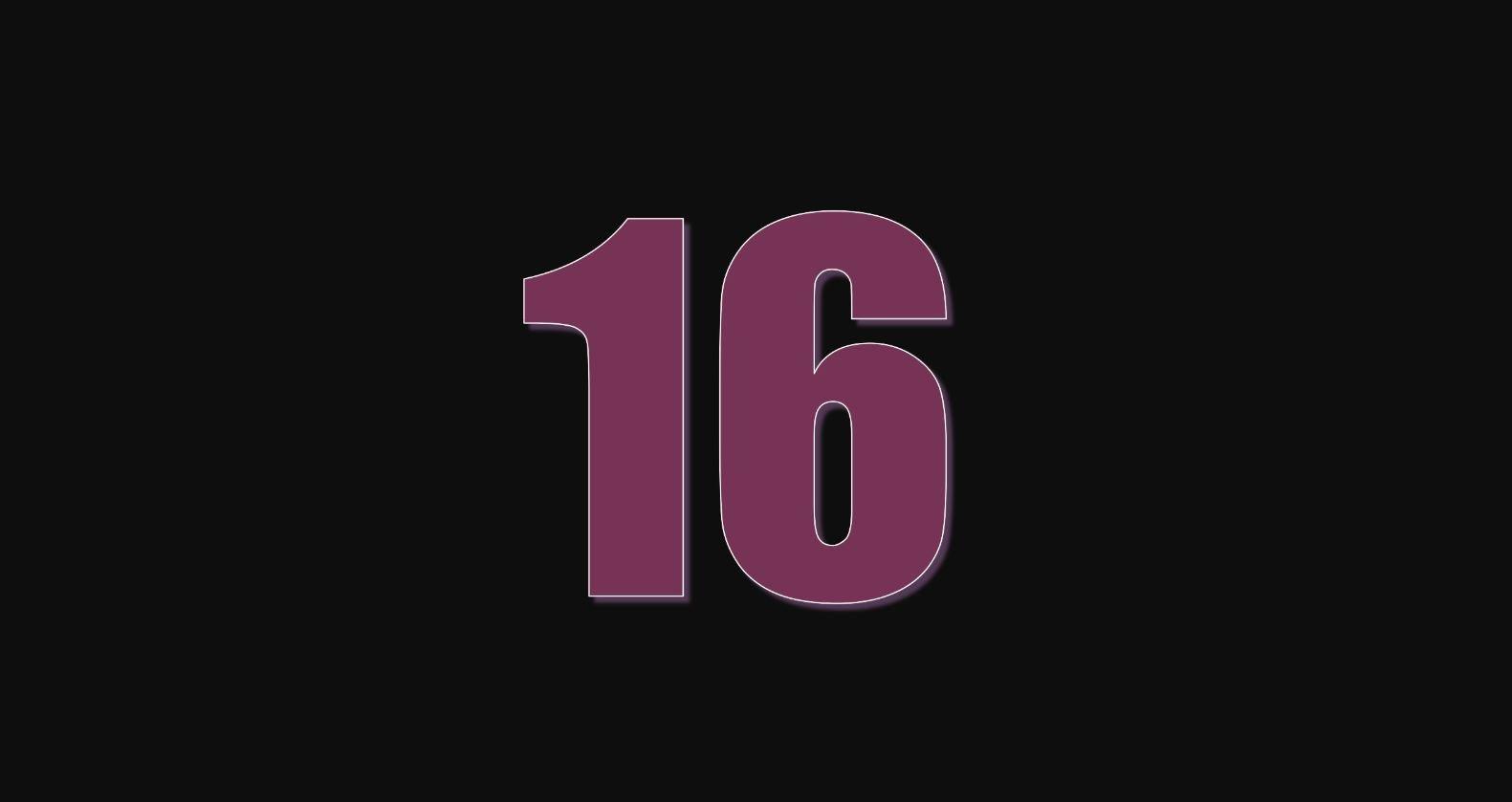 Angel Number 16