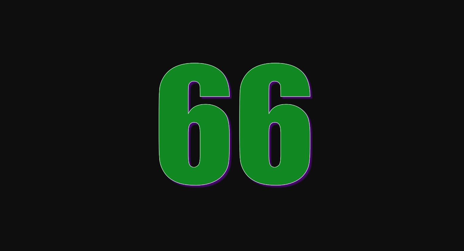 Angel Number 66
