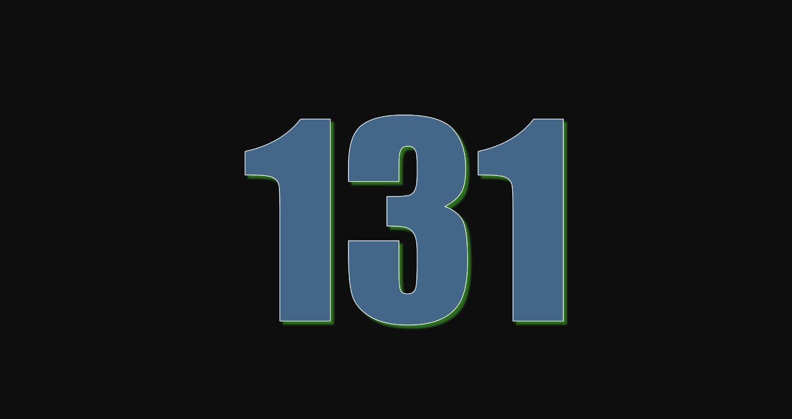 Angel Number 131