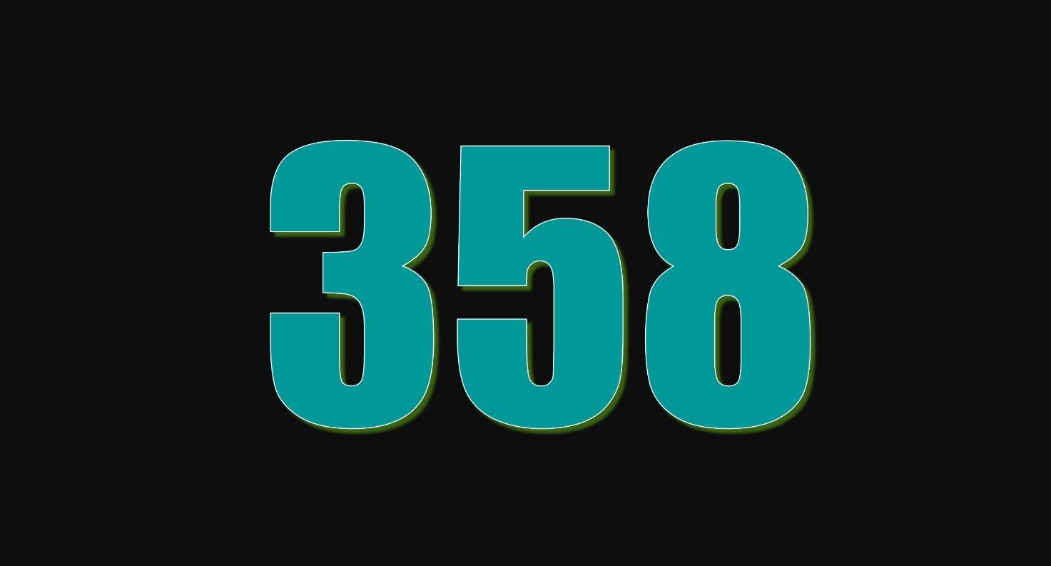 Angel Number 358