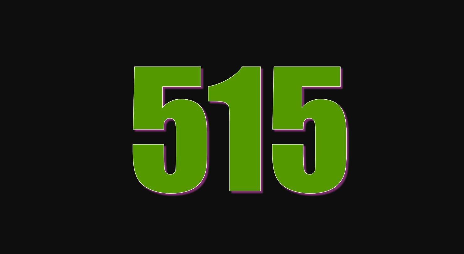 Angel Number 515
