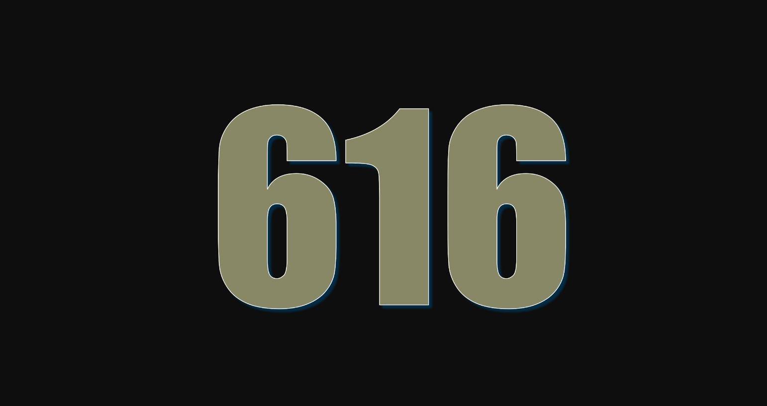 Angel Number 616
