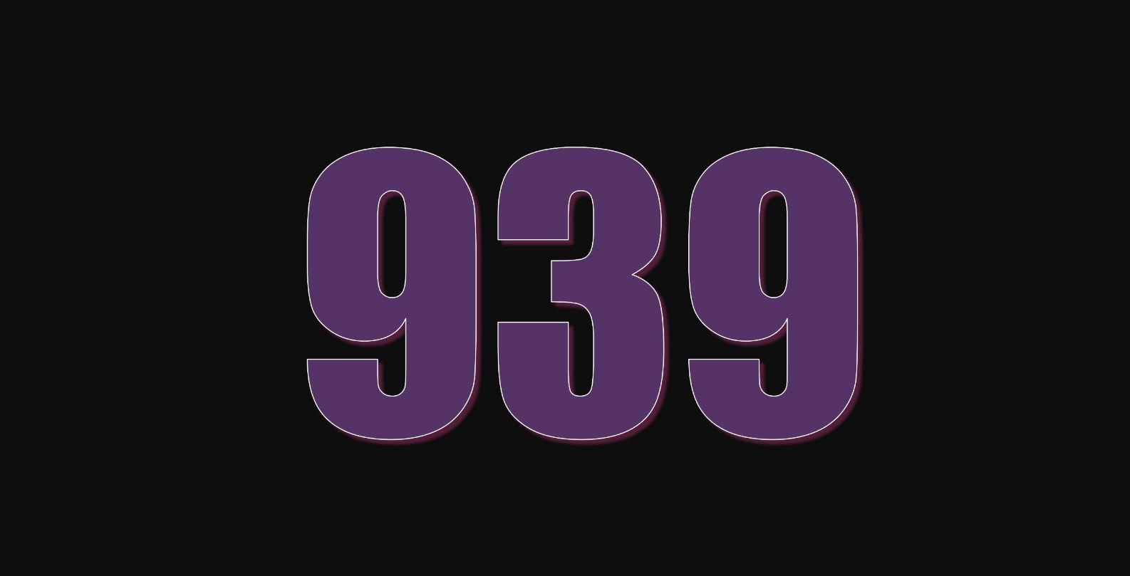 Angel Number 939
