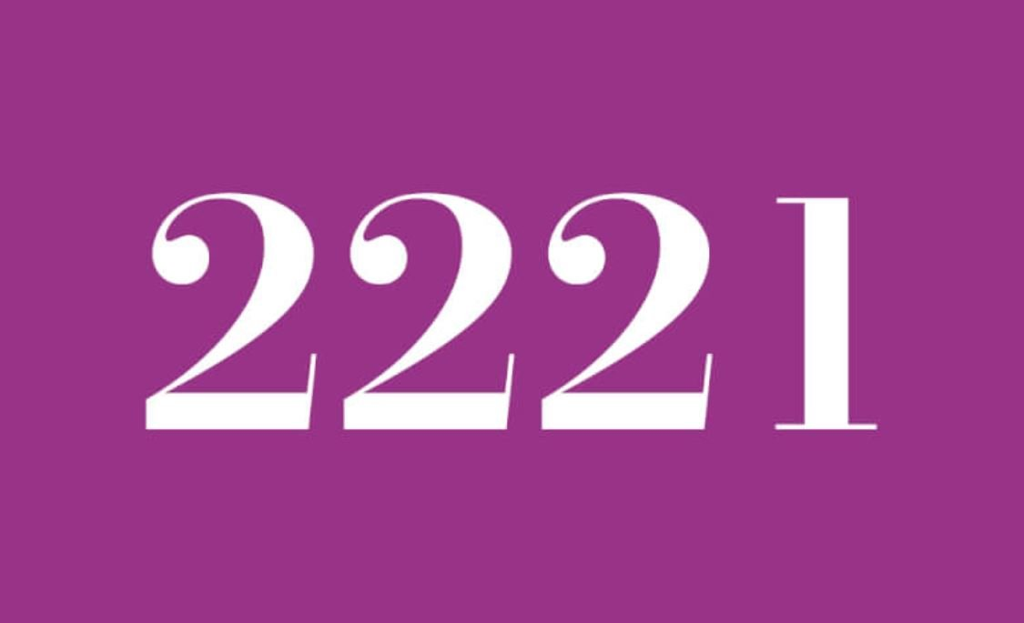Angel Number 2221