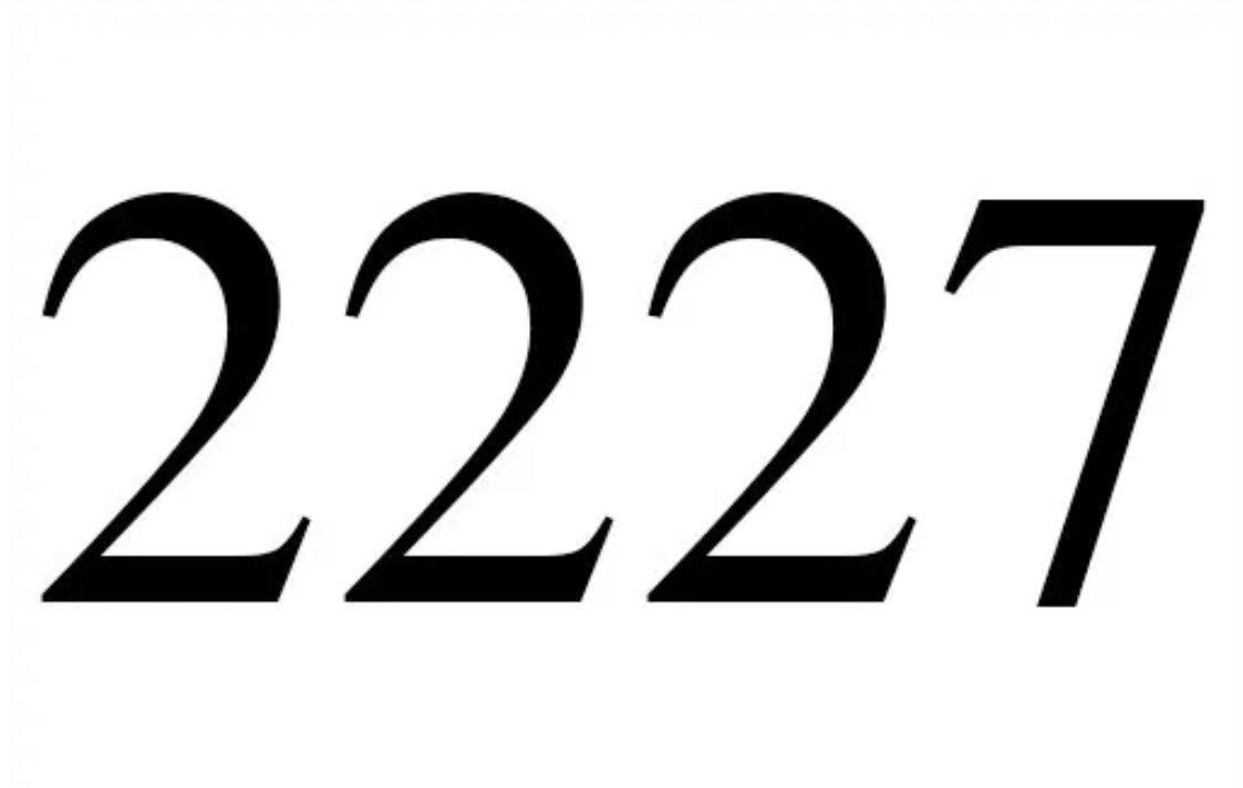 Angel Number 2227