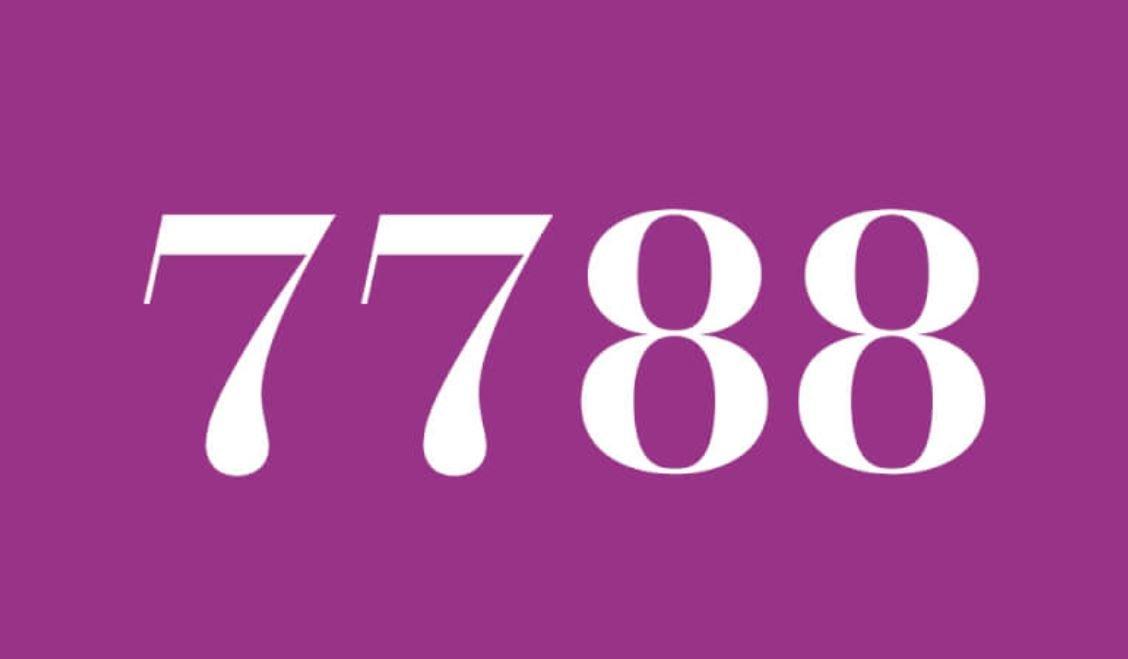 Angel Number 7788