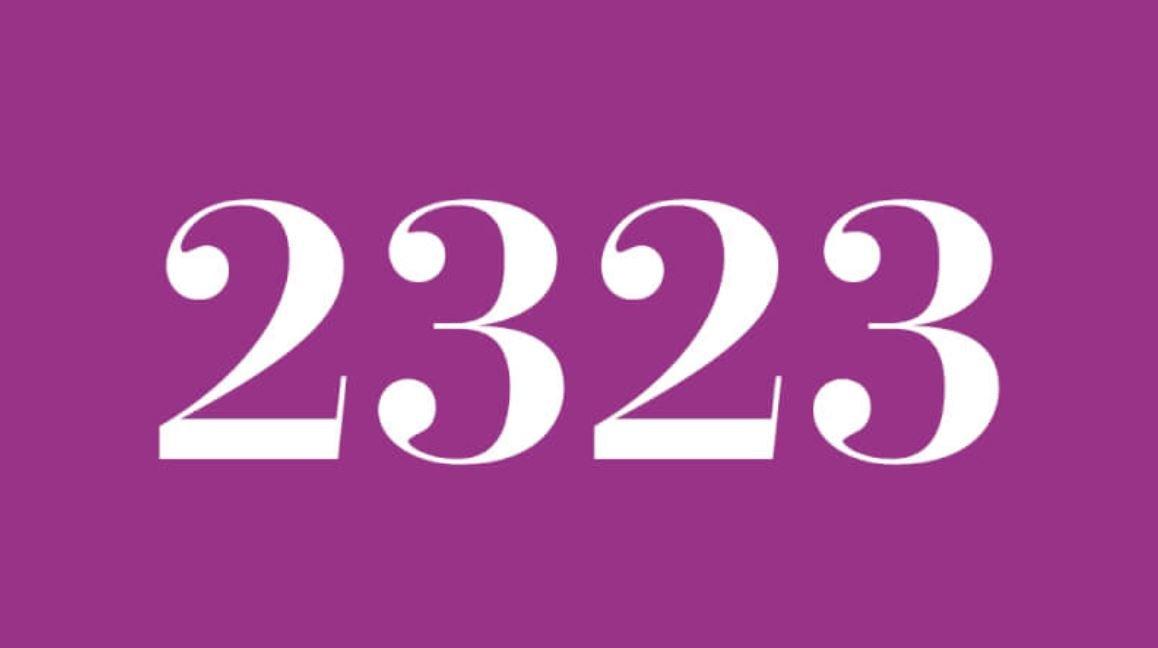 Angel Number 2323