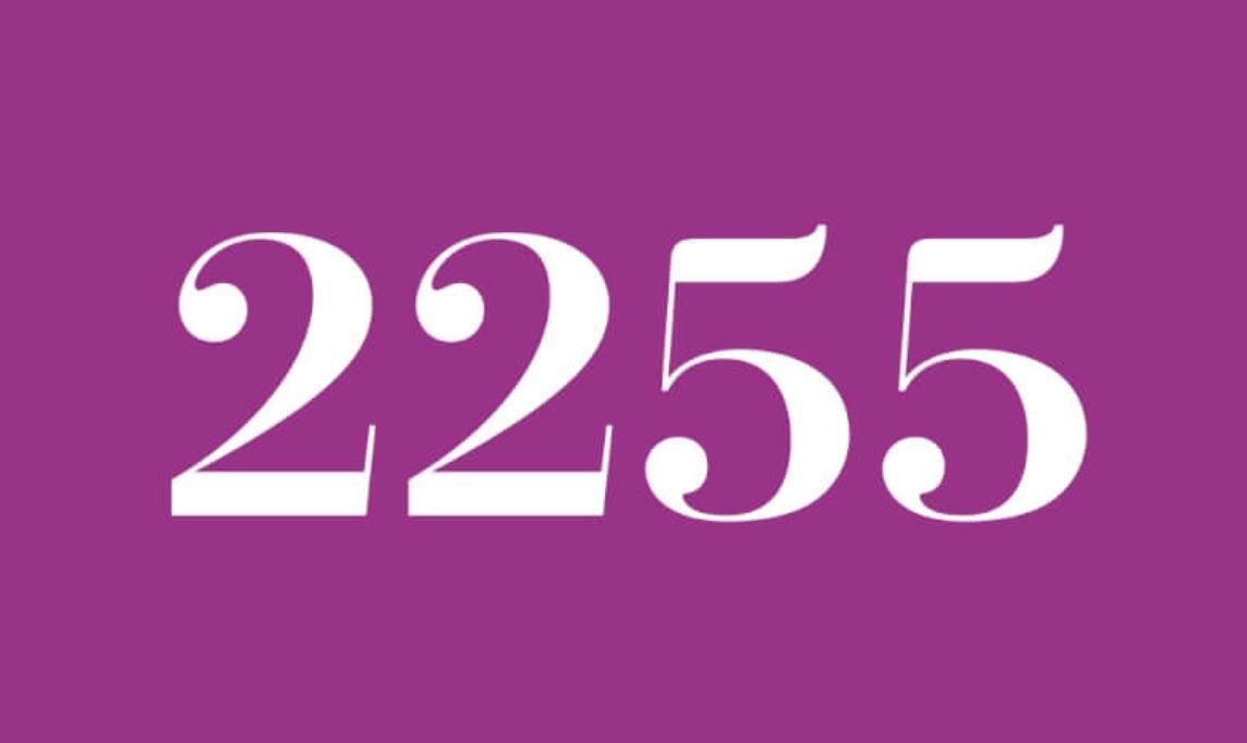 Angel Number 2255