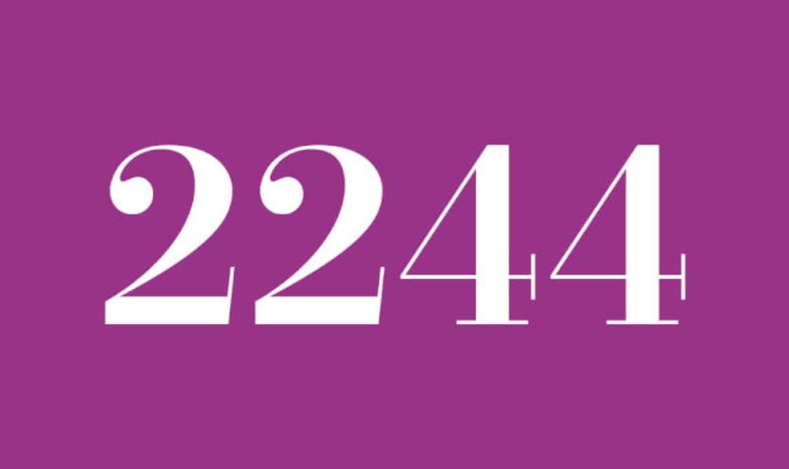 Angel Number 2244