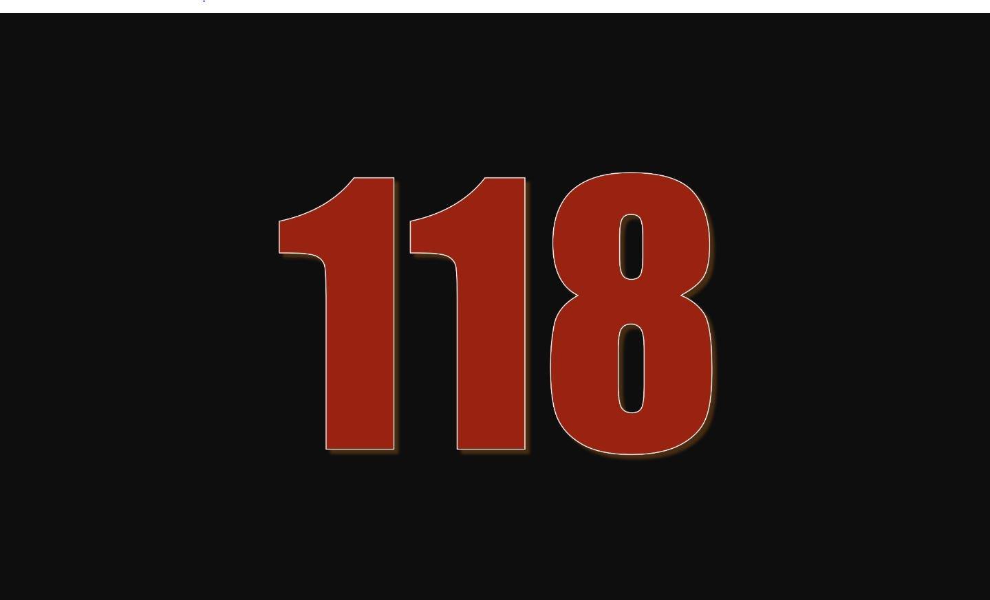 Angel Number 118