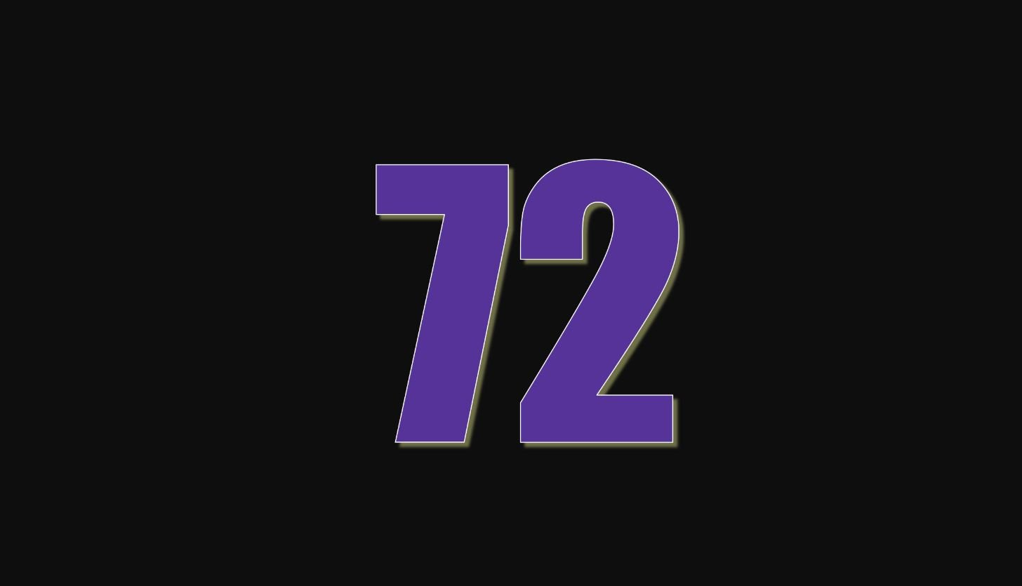 Angel Number 72