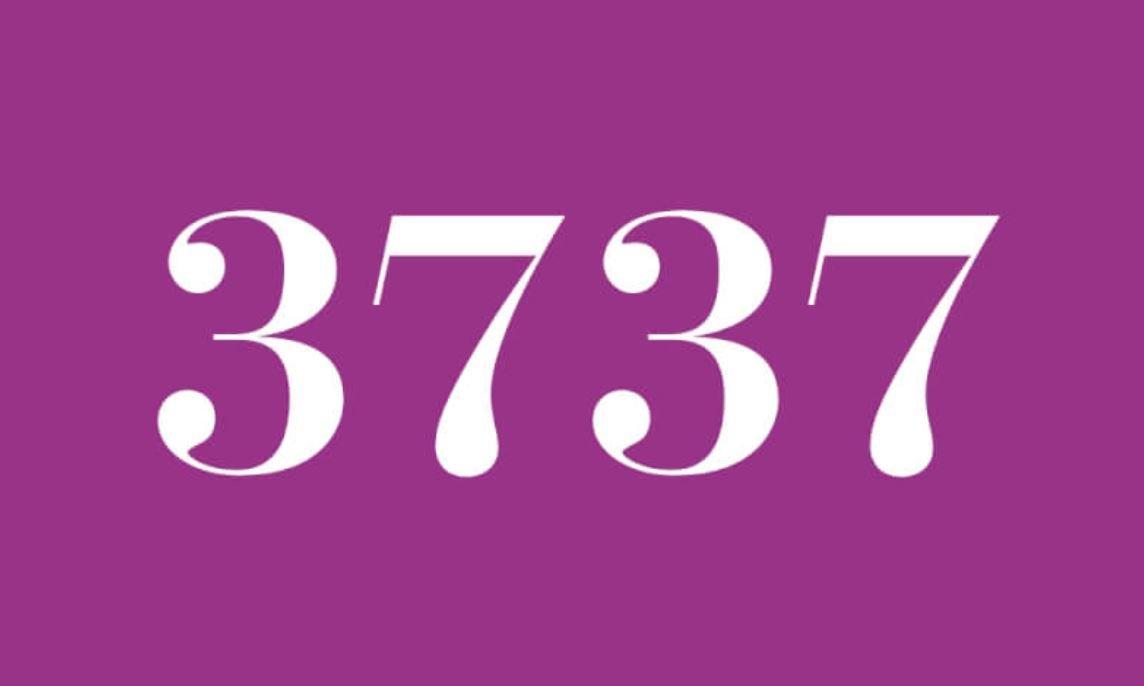 Angel Number 3737