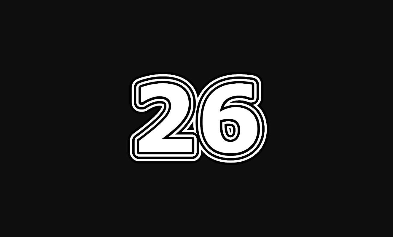 Angel Number 26