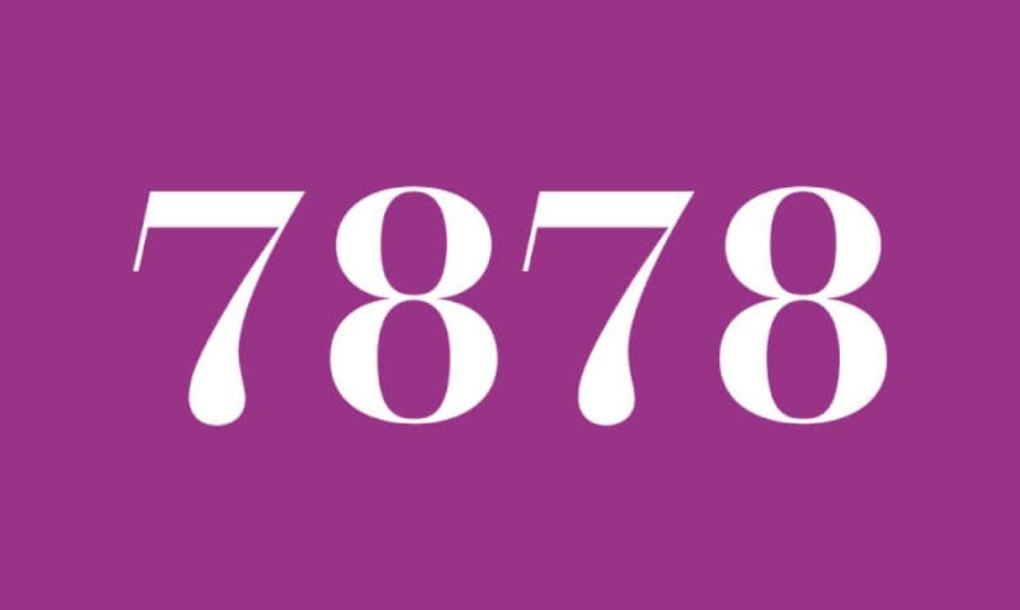 Angel Number 7878