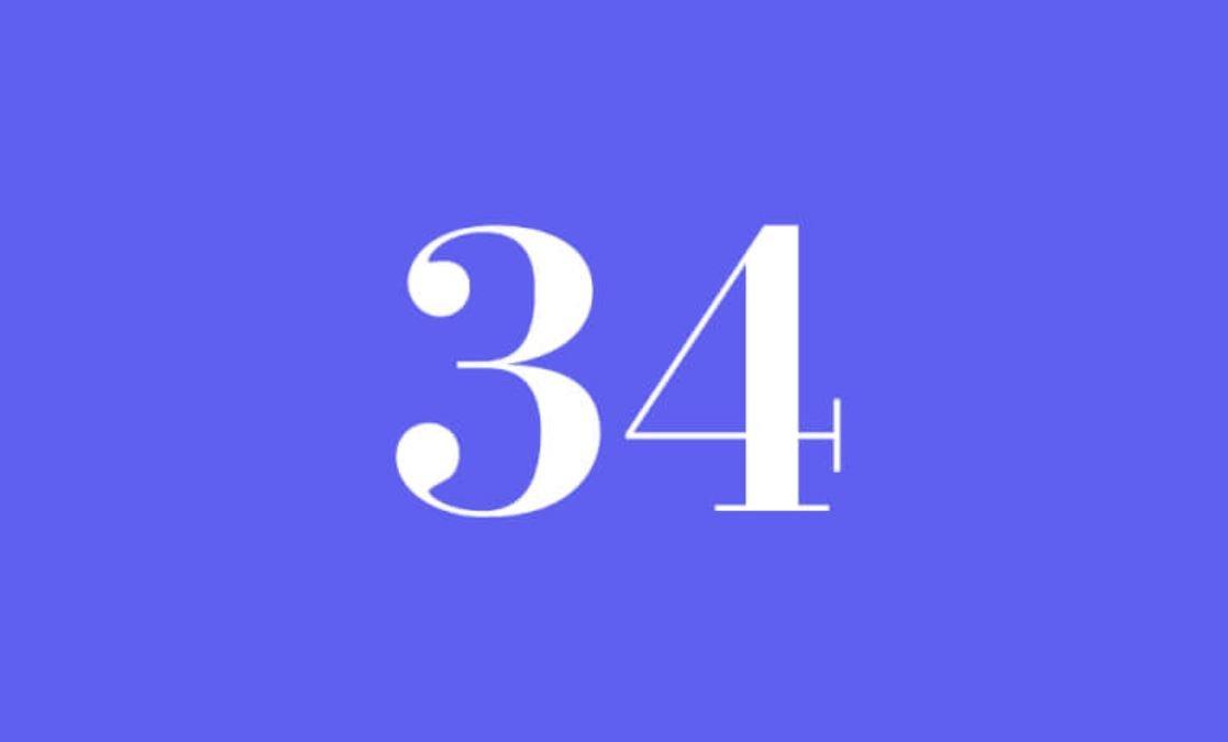 Angel Number 34