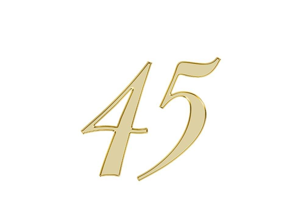Angel Number 45
