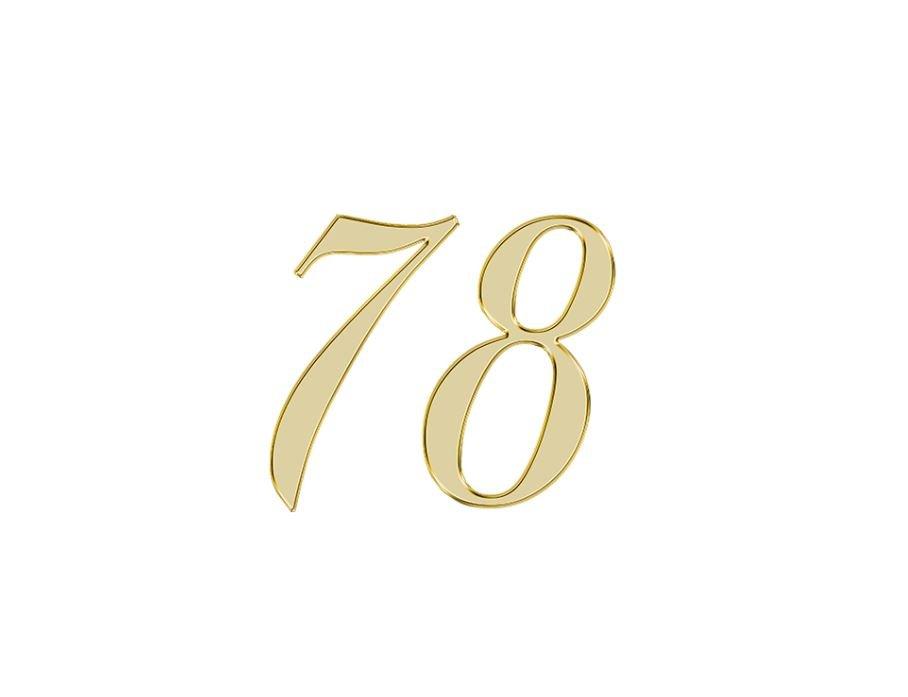 Angel Number 78