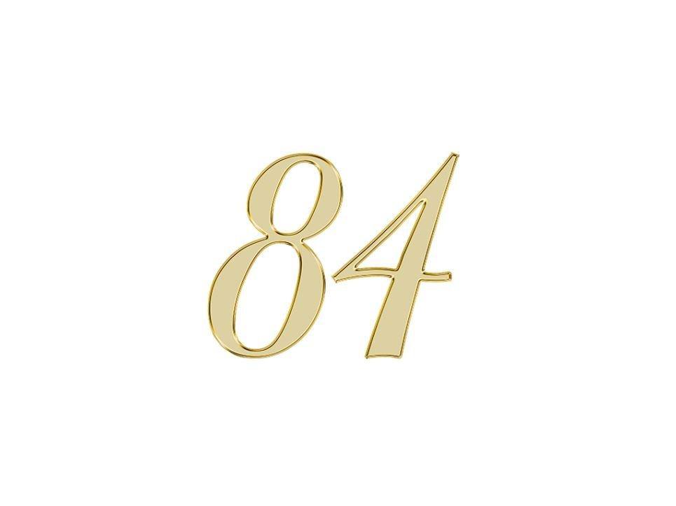 Angel Number 84