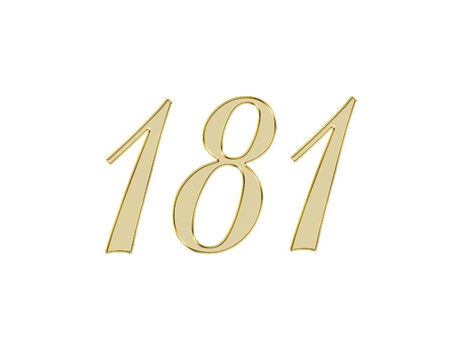 Angel Number 181