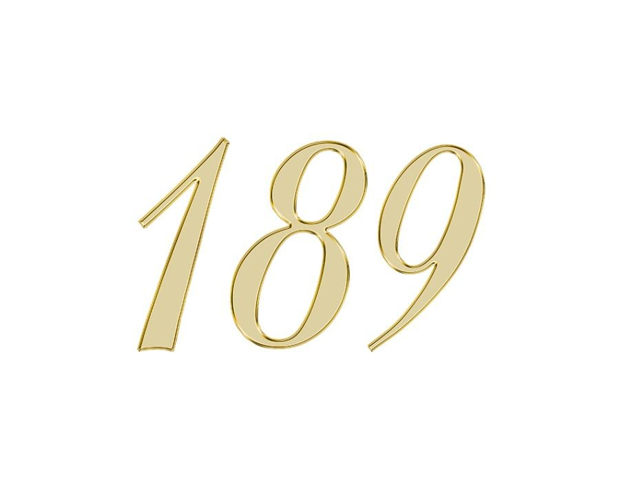 Angel Number 189
