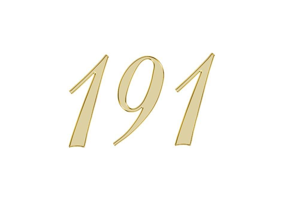 Angel Number 191