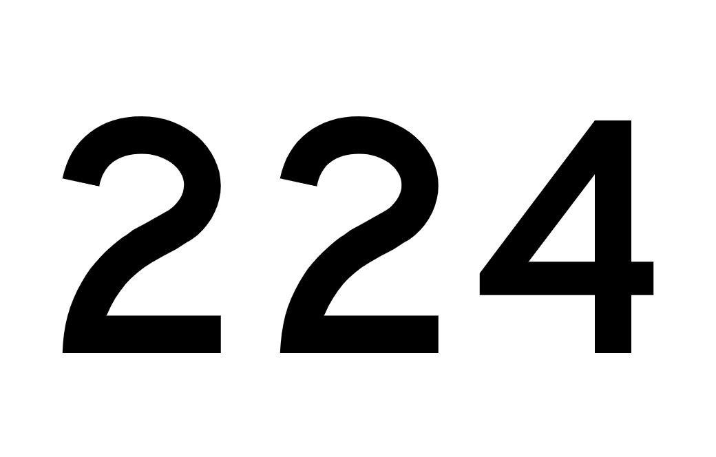 Angel Number 224