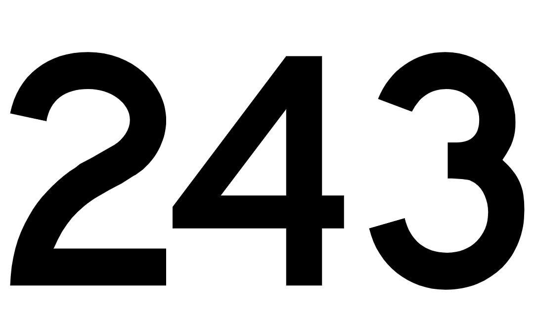 Angel Number 243