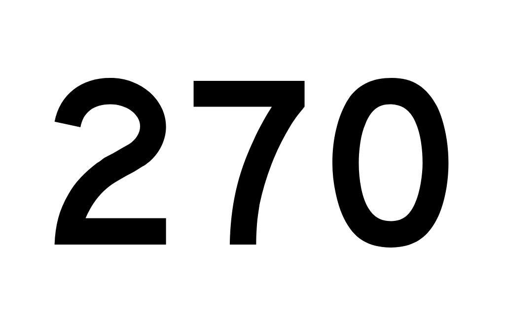 Angel Number 270