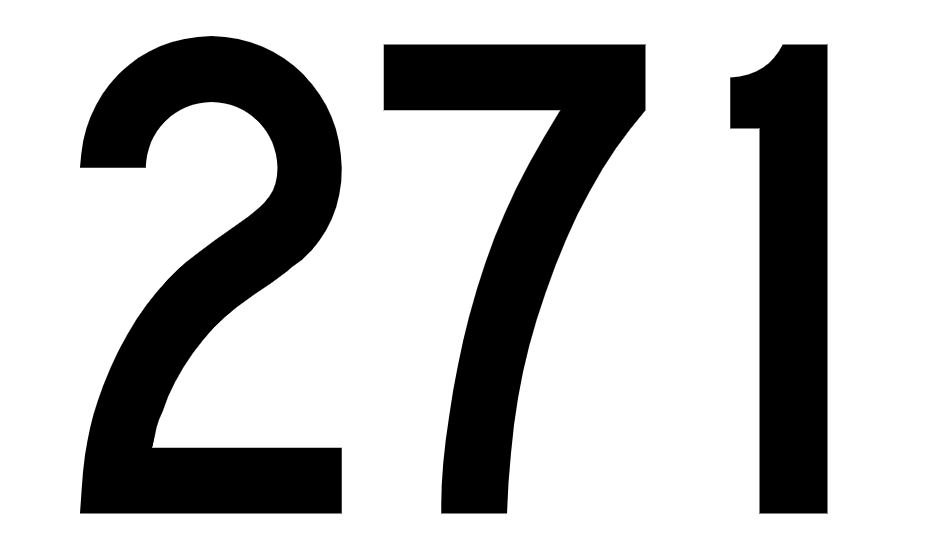 Angel Number 271